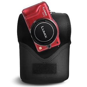 Matin Digital SLR Compact Camera Body Case Black V2 - (Medium) Upgraded Version from Matin