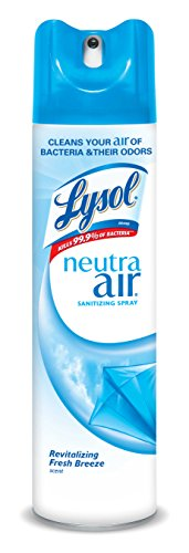 Lysol Neutra Air Sanitizing Spray Air Freshener, Aerosol, Revitalizing Fresh Breeze, 10 oz