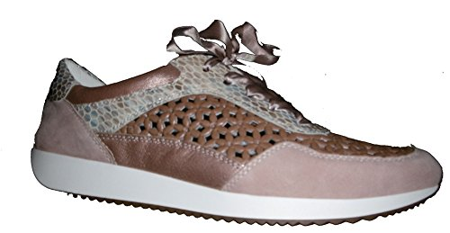 Lissabon Donna Puder Ara 12 taupe nude Sneaker 34020 EOqZfzpwH