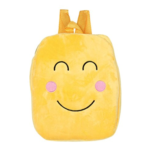I Emoticon Double Boys Emoji ADESHOP Backpack Bag Shoulder Bag Sales Soft Bag Clearance C School Cute Girls wqaRF