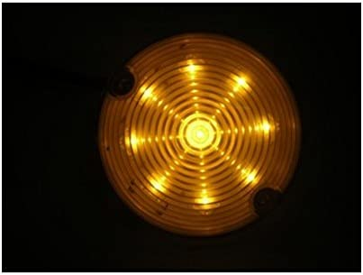 United Pacific 1957 Chevy 9 LED Amber Park Running Turn Signal Lights//Fits Existing Housing
