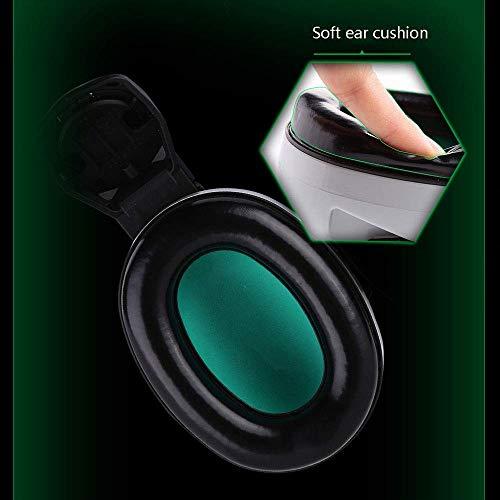 FS Head-mounted Noise-proof Earmuffs,Noise-proof Earmuffs Special Earmuffs For Helmet-type Helmet Construction Noise Reduction 25 Decibels (Color : Earmuffs) by FSHEZ (Image #2)
