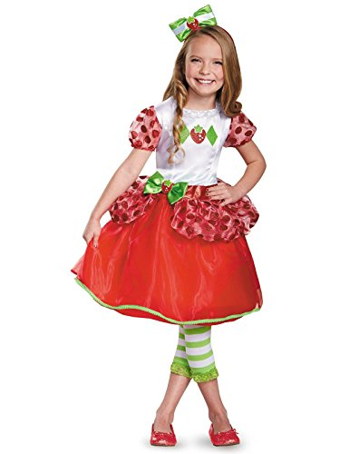 Strawberry Shortcake Deluxe Costume, Medium (7-8)]()