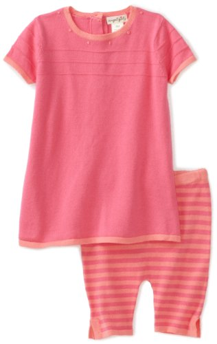 Angel Dear Baby-Girls Newborn Miro A-line Dress and Capri Sweater