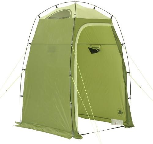 10T Camping-Zelt Greenwater Duschzelt Umkleidezelt Toilettenzelt Beistellzelt mit Ablagefach, Belüftung, wasserdicht mit 5000mm Wassersäule