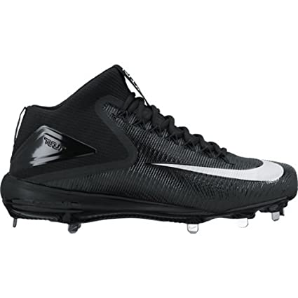 92aff191bb347 Image Unavailable. Image not available for. Color  Nike Mens Force Zoom  Trout 3 Mid Metal Baseball Cleats
