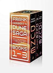Frank Herbert's Dune Saga 3-Book Boxed Set: Dune, Dune Messiah, and Children of