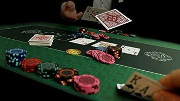 Bullets Playing Cards Alfombra de póker Profesional de 180 x 90 cm ...