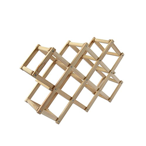 x shaped wine rack - 4