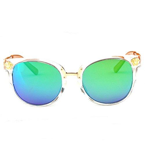 MosierBizne The New Trend Of Men And Women Retro Round Sunglasses Sun Wild Fashion - Smith Are Optics Made Where