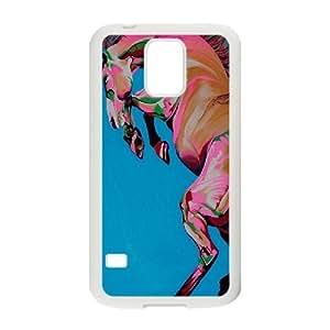 Kawaii Horse Hard Skin Pattern Back Phone Case Potector for Samsung Galaxy Case S5 TSL326656