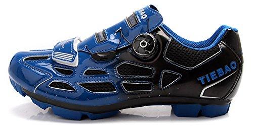 Tiebao Radfahren Schuhe Off Road Zapatillas Deportivas Turnschuhe Blau