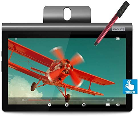 "Lenovo 10.1"" FHD IPS Touchscreen Tablet, Core CPU, 4GB RAM, 64GB eMMC, 802.11ac WiFi, Bluetooth 4.2, 2 Cameras, USB Type-C, BROAGE 64GB Flash Stylus"