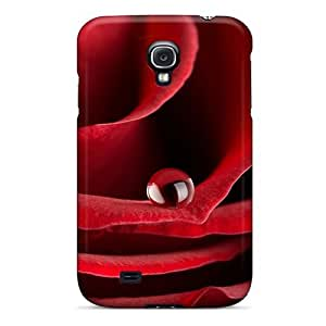 Hot Red Rose First Grade Tpu Phone Case For Galaxy S4 Case Cover