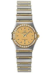 Omega Constellation Two Tone Mini Women S Watch