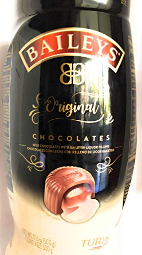 BAILEYS Original Irish Cream Liquor Filled Chocolate Turin, 17.6 ounces - one Jar