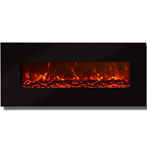 Regal Flame Valencia Black 50″ Log Ventless Heater Electric Wall Mounted Fireplace Better than Wood Fireplaces, Gas Logs, Fireplace Inserts, Log Sets, Gas Fireplaces, Space Heaters, Propane Review