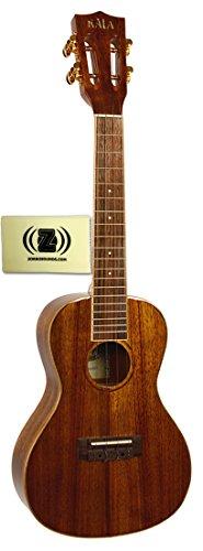 Kala Hawaiian Koa Series Concert Ukulele Bundle with