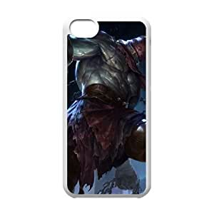 iPhone 5c Cell Phone Case White League of Legends Nightmare Tryndamere KWI8898836KSL