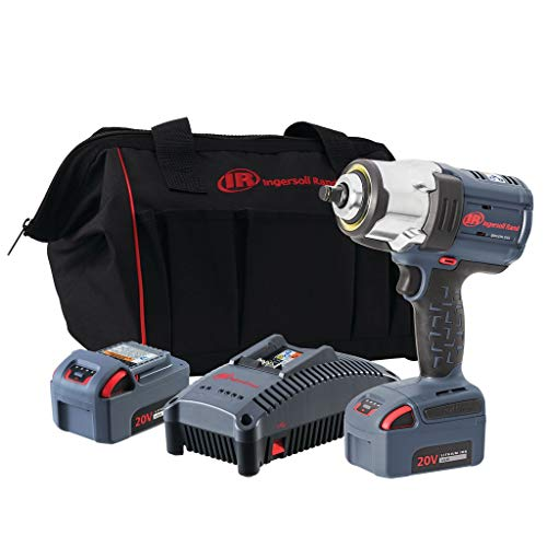 "Ingersoll Rand 1/2"" 20V Cordless Impact, 2 Battery Kit, W7152-K22, (2) Battery Kit from Ingersoll Rand"