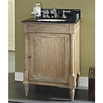 fairmont designs 142 v24 rustic chic 24 vanity weathered oak - Rustic Chic Bathroom Vanity