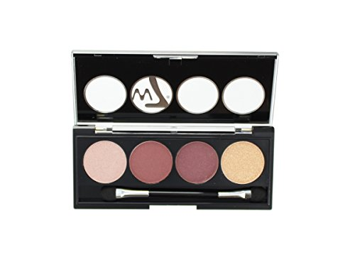 W7 Let's Go Quad Eye Colour Eye Shadow Palette-Let's Go Beig