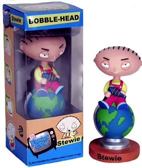 FUNKO INC. 115574 Family Guy Bobblehead Doll - Stewie
