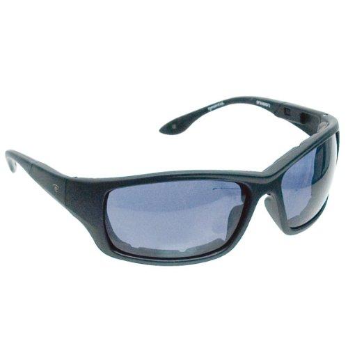 Eyesential Dry Eye Sunglasses Medium Modified Rectangle Black Smoke