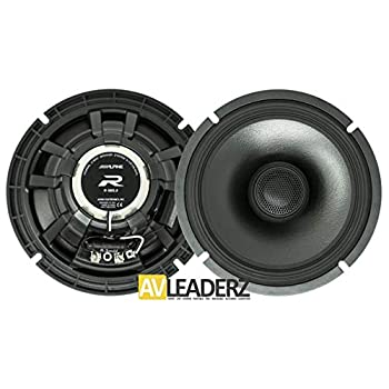 Image of Alpine R-S65.2 R-Series 6 1/2-inch Coaxial 2-Way Speakers (Pair) Coaxial Speakers