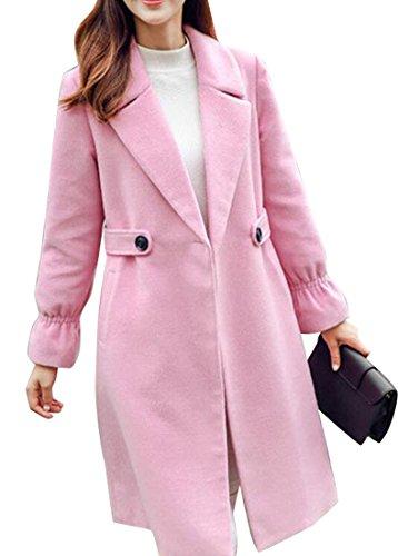 Knee Length Cashmere Blend Overcoat - 7