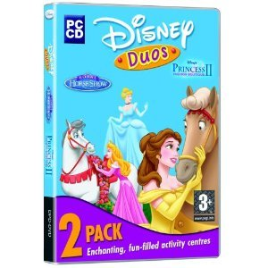 Disney Duos, 2 Pack, Including Disney's Royal Horse Show & Disney Princess II Fashion Boutique (PC CD) (Royal Horse Princess)