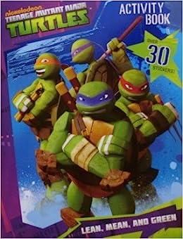 Nickelodeon Teenage Mutant Ninja Turtles Activity Book: Lean ...
