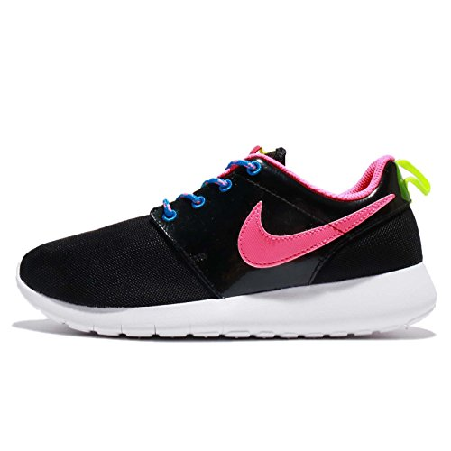 NIKE Roshe One GS - 599729011 - Color Pink-Black - Size: 4.5 by NIKE