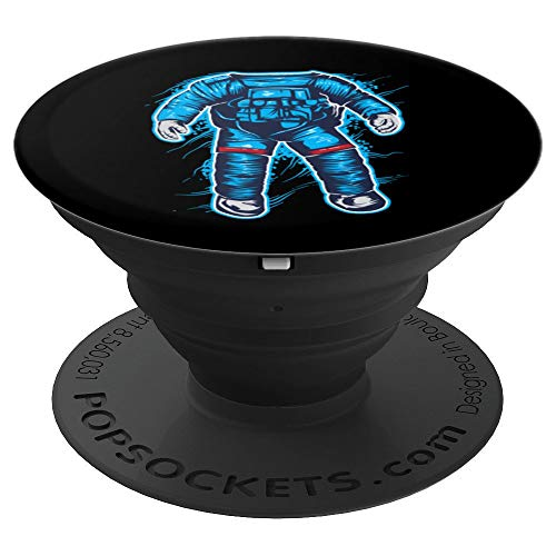 Astronaut Costume Halloween Art Funny Space Explorer Gift - PopSockets Grip and Stand for Phones and Tablets -