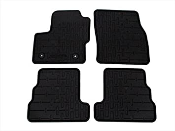 2015 Lincoln MKC All Weather Rubber Floor Mats Black Front /& Rear Set GENUINE OEM BRAND NEW