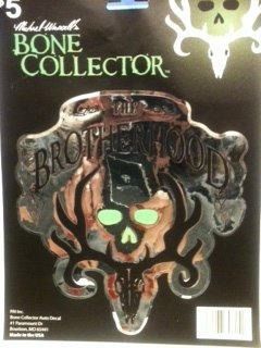 - Michael Waddell's BONE COLLECTOR The Brotherhood Decal 5.5 x 5.5 inches