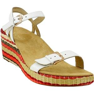 24ab342c7ea83 Vionic Enisa Womens Backstrap Orthotic Sandal White - 7 - Import It All