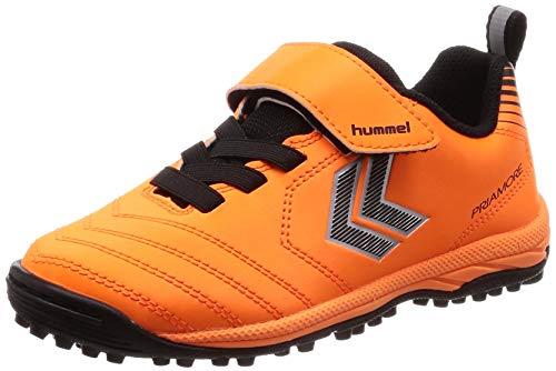 험멜 축구화 프리 아모레 V VTF Jr.보이의 오렌지 × 블랙 (3590) / 발틱 블루 × F 옐로우 (6932)