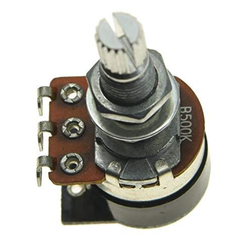 Shadow Kill Pot Guitar Bass Potentiometer with Push Switch to Kill the Sound Audio or Linear Taper A25K/A250K/A500K/B25K/B250K/B500K ()