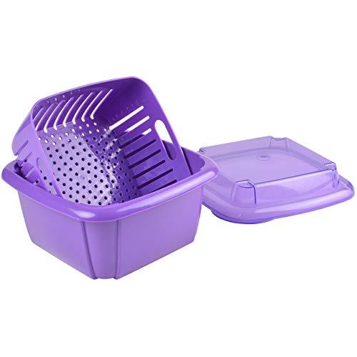 Hutzler 3-in-1 Berry Box, Violet