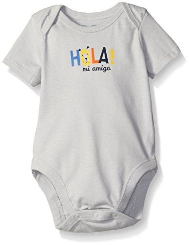 The Children's Place Baby Hola Ruched Bodysuit, Atmosphere, 3-6 Months