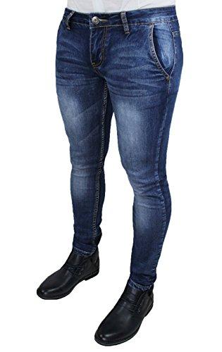Mat Sartoriale Herren Jeanshose blau blau 36