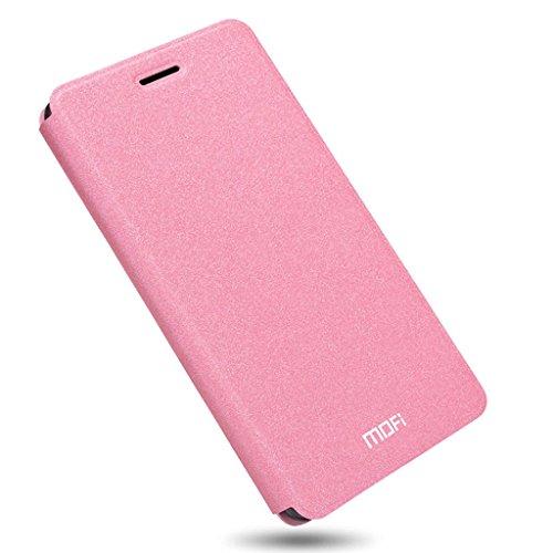 KaTelin ZUK Z2 Pro Funda - Funda Carcasa Flake Interna Acero Cuero Tapa Case Cover para ZUK Z2 Pro - Azul Pink