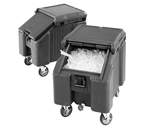 Cambro (ICS100L4S110) 100 lb Ice Caddy - SlidingLid by Cambro