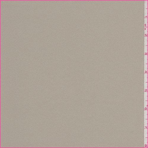 Dark Tan Crepe Back Satin, Fabric by The Yard ()