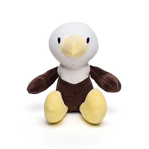 Bears For Humanity Organic Bald Eagle Animal Pals Plush Toy, Brown, 12