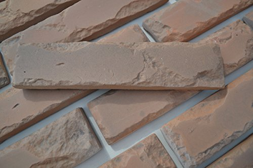 24 pcs MOLDS Antique Brick Veneer for Concrete Plaster Wall Brick Tiles - Concrete Tile Molds