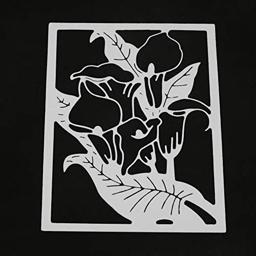 (Die cuts Metal die Cutting Dies Stencil for DIY Scrapbooking Album Paper Card Decor Craft Stamping Kitchen Household Home DIY Craft Sewing Scrapbooking)