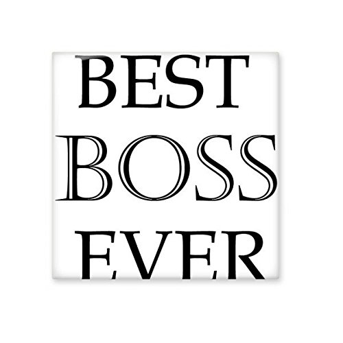 Best Boss Ever Office Worker Words Quotes Creative Design Ceramic ...