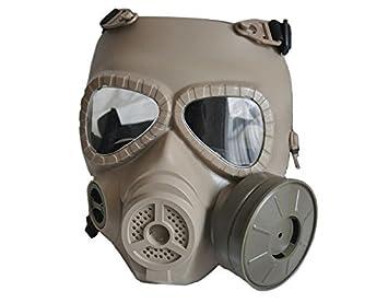 Máscara M04 de protección para paintball con diseño de má